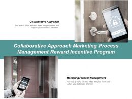 Collaborative Approach Marketing Process Management Reward Incentive Program Cpb