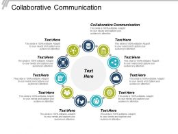Collaborative Communication Ppt Powerpoint Presentation Infographic Template Gallery Cpb