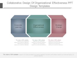 Collaborative Design Of Organizational Effectiveness Ppt Design Templates