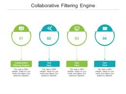 Collaborative Filtering Engine Ppt Powerpoint Presentation Icon Graphics Pictures Cpb