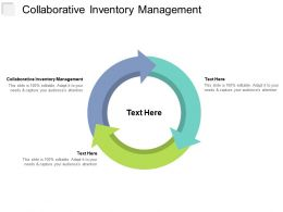 Collaborative Inventory Management Ppt Powerpoint Presentation File Show Cpb