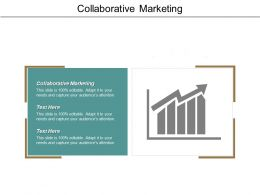 Collaborative Marketing Ppt Powerpoint Presentation Pictures Background Cpb
