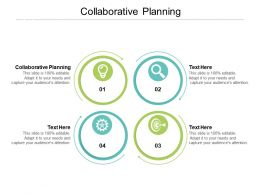 Collaborative Planning Ppt Powerpoint Presentation Layouts Elements Cpb