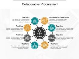 Collaborative Procurement Ppt Powerpoint Presentation Infographics Icon Cpb