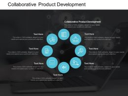 Collaborative Product Development Ppt Powerpoint Presentation Gallery Guide Cpb