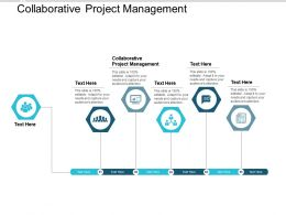 Collaborative Project Management Ppt Powerpoint Presentation Model Cpb