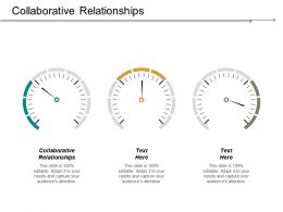 Collaborative Relationships Ppt Powerpoint Presentation Infographic Template Icon Cpb