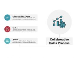 Collaborative Sales Process Ppt Powerpoint Presentation Layouts Example Topics Cpb