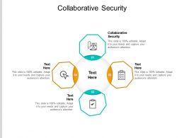 Collaborative Security Ppt Powerpoint Presentation Ideas Portfolio Cpb