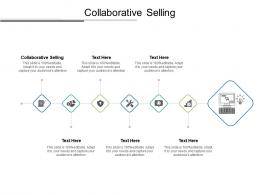 Collaborative Selling Ppt Powerpoint Presentation Summary Deck Cpb
