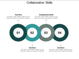 Collaborative Skills Ppt Powerpoint Presentation File Inspiration Cpb