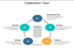 Collaborative Team Ppt Powerpoint Presentation Slides Sample Cpb