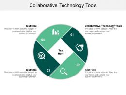 Collaborative Technology Tools Ppt Powerpoint Presentation Slides Infographics Cpb