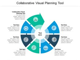 Collaborative Visual Planning Tool Ppt Powerpoint Presentation Visual Aids Background Images Cpb