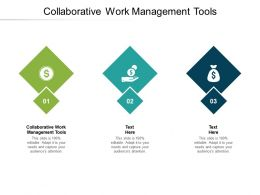 Collaborative Work Management Tools Ppt Powerpoint Presentation Slides Clipart Cpb