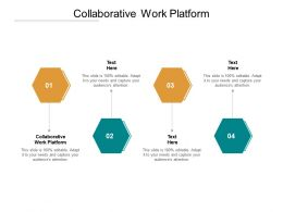 Collaborative Work Platform Ppt Powerpoint Presentation Pictures Template Cpb