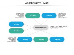 Collaborative Work Ppt Powerpoint Presentation Guide Cpb