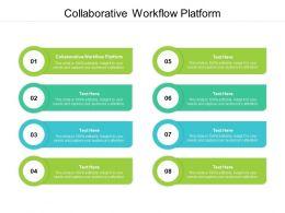 Collaborative Workflow Platform Ppt Powerpoint Presentation Professional Design Inspiration Cpb