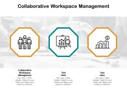 Collaborative Workspace Management Ppt Powerpoint Model Background Cpb