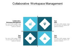 Collaborative Workspace Management Ppt Powerpoint Presentation Gallery Portrait Cpb