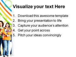 Collage Students Education PowerPoint Backgrounds And Templates 1210  Presentation Themes and Graphics Slide03