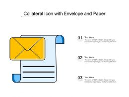 Collateral Icon With Envelope And Paper