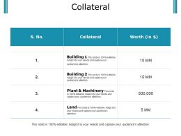 Collateral Powerpoint Slide Download