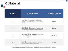 Collateral Ppt Gallery Designs Download