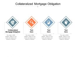 Collateralized Mortgage Obligation Ppt Powerpoint Presentation Icon Format Cpb