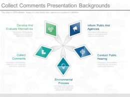 Collect Comments Presentation Backgrounds