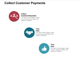 Collect Customer Payments Ppt Powerpoint Presentation Ideas Show Cpb