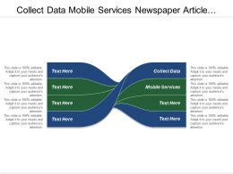 Collect Data Mobile Services Newspaper Article Analysis Report