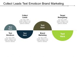Collect Leads Text Emoticon Brand Marketing Target Retargeting Cpb