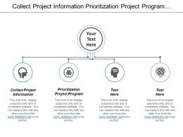 Collect Project Information Prioritization Project Program Monitor Change