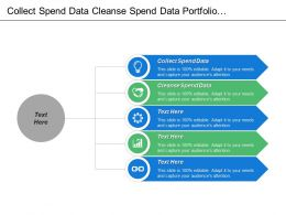 Collect Spend Data Cleanse Spend Data Portfolio Management