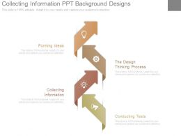 Collecting Information Ppt Background Designs
