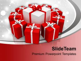 Collection Of Gifts Anniversary PowerPoint Templates PPT Themes And Graphics 0113