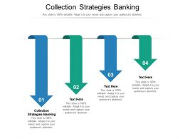 Collection Strategies Banking Ppt Powerpoint Infographics Graphics Download Cpb