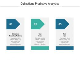 Collections Predictive Analytics Ppt Powerpoint Presentation Layouts Example Topics Cpb