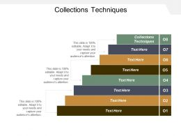 Collections Technique Ppt Powerpoint Presentation File Graphics Tutorials Cpb
