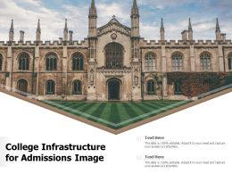 College Infrastructure For Admissions Image
