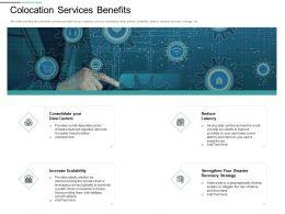 Colocation Services Benefits Burst Into Ppt Powerpoint Presentation Ideas
