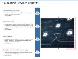Colocation Services Benefits Limitless Growth Ppt Powerpoint Presentation Pictures Graphics