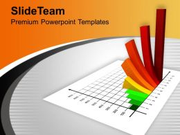 Colorful 3d Bar Graph Growth Future PowerPoint Templates PPT Themes And Graphics 0113