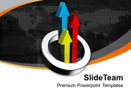 Colorful Arrows In Circle Business PowerPoint Templates PPT Themes And Graphics 0213