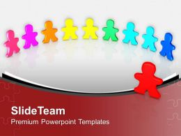 Colorful Men Standing Diversity Powerpoint Templates Ppt Themes And Graphics 0313
