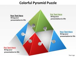 Colorful Pyramid Puzzle 45