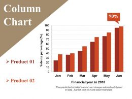 Column Chart Example Ppt Presentation