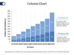Column Chart Ppt File Styles
