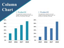 Column Chart Ppt Pictures Vector